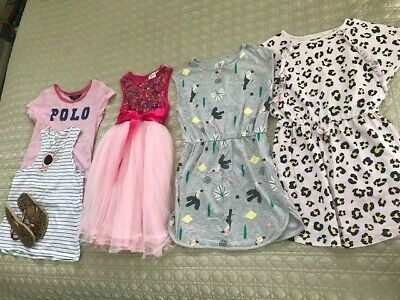 Girls Clothing bundle - size 7-8, RL, Cotton On, Seed, Origami & havaianas