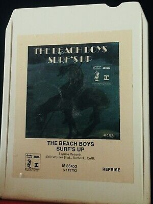 THE BEACH BOYS - SURF'S UP -8 Track  1970's Music! Fast Shipping Worldwide !!!!!