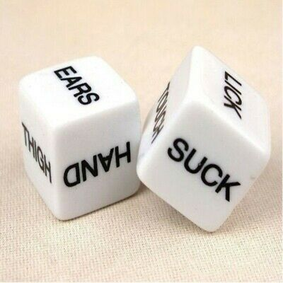 Love Dice X2 Adult Erotic Dice Game Couples Lovers Valentines Anniversay Gift UK