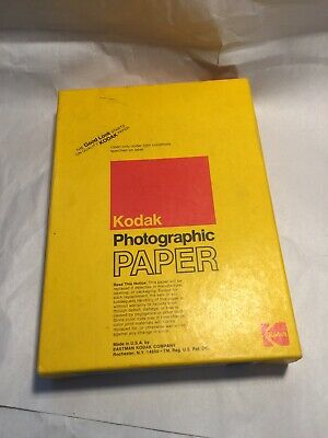 Kodak Polycontrast II RC 5 x 7 Photographic Paper 100 Sheets NOS