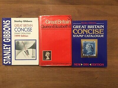 Stanley Gibbons Great Britain Stamp Catalogues Concise Queen Elizabeth 1991-99