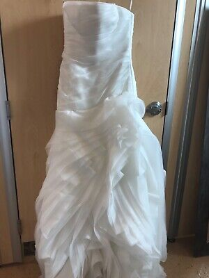 White By Vera Wang Wedding Dress Eur 149 65 Picclick Fr