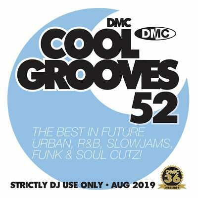 Cool Grooves Vol 52 Chart Hits in Urban, RnB, Jazz, Soul and Funk DJ CD