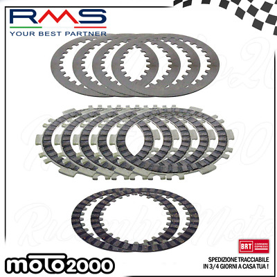 Kit Serie Dischi Frizione Rms Yamaha T-Max Tmax 500 2001 - 20011 100280100