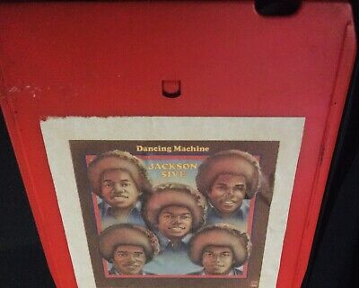 JACKSON FIVE Dancing Machine MHT 00780 8 Track Tape- Fast Shipping Worldwide!!!!