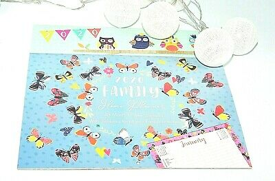 1x 2020 Family home planner organiser wall calendar for notes