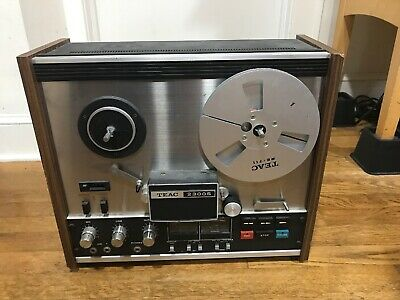 Teac 2300S Reel To Real Stereo Tape Deck...Powers On/Runs!