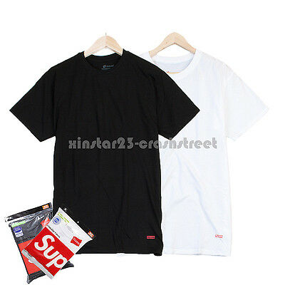 Supreme Box Logo Hanes Tee (pack of 3)