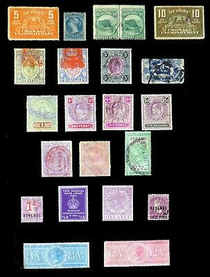 Revenues Mainly British Commonwealth MIXED CONDITION on 2 Pages BP966