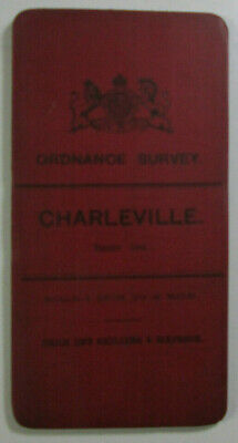 1899 Old OS Ordnance Survey Ireland One-Inch Second Edition Map 164 Charleville