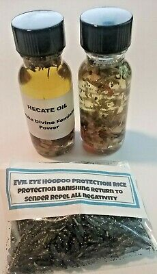 Protection Banish Remove Negativity Invoke Power Hecate Oil  Wicca Voodoo Hoodoo