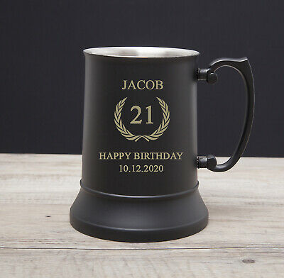Personalised 18th 21st 30th Birthday Gifts Male Men Boys