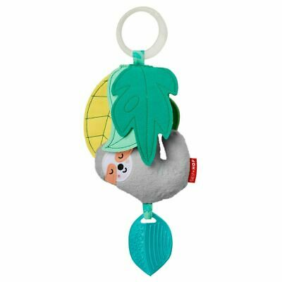 NEW Skip Hop Tropical Paradise Jitter Stroller Toy - Sloth