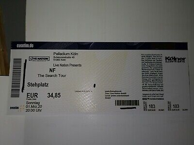 Nf / The Search Tour / Köln / 01.03.2020 / Stehplatz