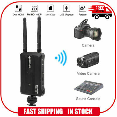 Image Wireless Video Transmission Dual  Transmitter Receiver for Camera Monitor