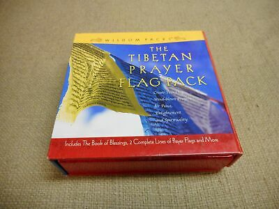 The Tibetan Prayer Flag Pack with The Book of Blessings by Jacky Sachs 2006
