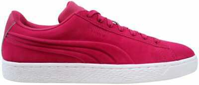 PUMA Red Suede Classic Rubber Mix Mid Sneakers for men