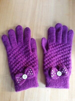 Gorgeous Soft Cosy Gloves By Dents  Ladies One Size Wool Angora & Mix