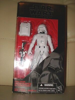 Star Wars The Black Series! First Order Snowtrooper #12! Hasbro 6-Inch Figure!