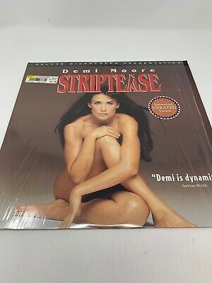 Striptease UNRATED Widescreen Laserdisc Demi Moore VG+ Cond. IN SHRINK