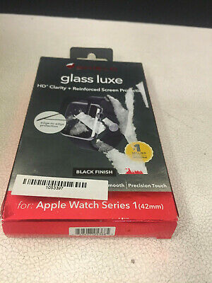 ZAGG Invisible Shield Glass Luxe HD Clarity + Screen Protection - Apple Watch 1