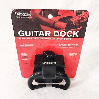 D'Addario Planet Waves Portable  Table edge Lock-on Guitar Stand Dock PW-GD-01