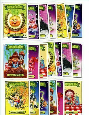 2019 GPK SCRATCH & STINK Complete A & B Set 20 Cards Garbage Pail Kids