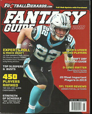 2019 Fantasy Guide  Football Diehards Magazine,  Issue, 2019  450 Players Ranked