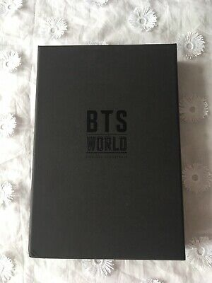 BTS World OST Album CD Photobook Lenticular Folded Poster (NO PCs) US Seller
