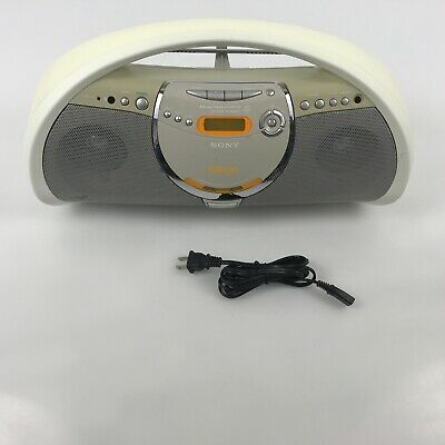 Vintage Sony PSYC Boombox ZS-YN7 TESTED CD Player MP3 AM/FM 2.C6