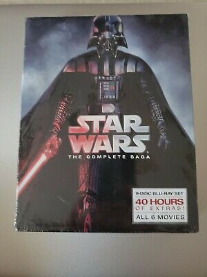 Star Wars: The Complete Saga (Blu-ray Disc, 9-Disc Set)