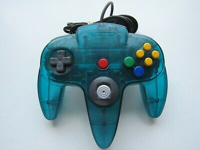 OEM Nintendo 64 N64 Ice Blue Funtastic Authentic Video Game Controller Remote