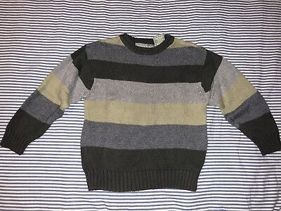 Kenneth Cole Boys Green Striped Sweater 3T SELLING TONS! Top Christmas Perfect