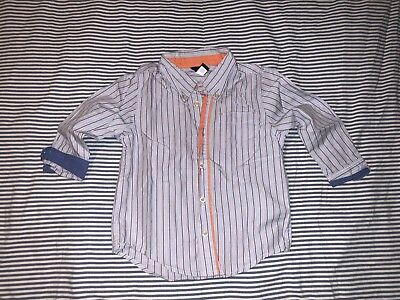 Baby Gap Boys Striped Button Down Shirt 4 Years SELLING TONS! Top Tee