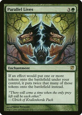 Parallel Lives Innistrad NM-M Green Rare MAGIC THE GATHERING MTG CARD ABUGames
