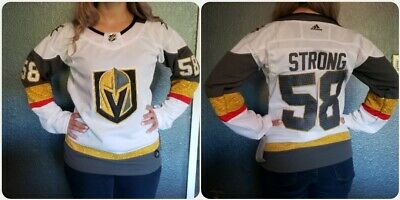info for e1ce2 48332 WOMEN'S FITTED MEDIUM White Vegas Golden Knights