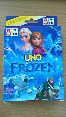Frozen UNO Playing Cards Game for Travel Family Friends AU