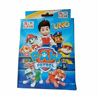 Paw Patrol UNO Playing Cards Game for Travel Family Friends AU