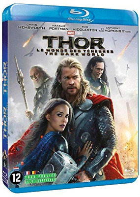 Thor - The Dark World (UK IMPORT) BLU-RAY NEW