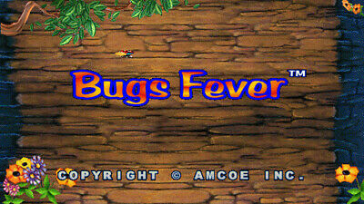 Bugs Fever 8 Liner Cherry Master Board, Tested Working Good.