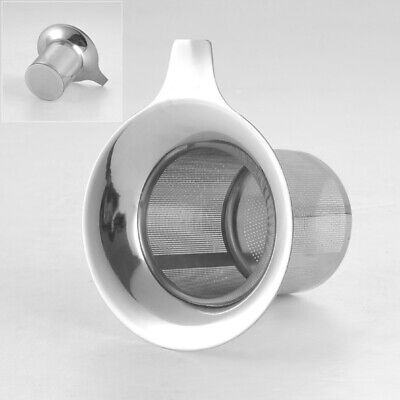 Stainless Reusable Mesh Tea Infuser Strainer Leaf Filter Sieve Cup Accessories