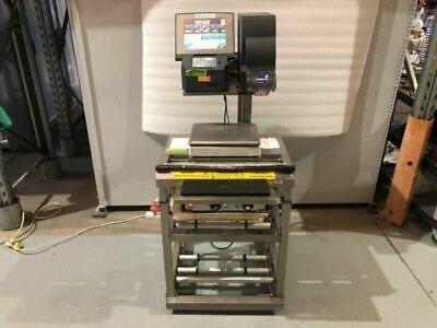 Wedderburn DPS-4600M Prepack Scale Wrapping Labelling Station #2