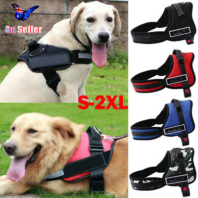 No-pull Dog Pet Harness Reflective Outdoor Safety Vest Jacket Padded Handle