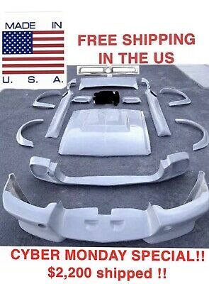 1967 1968 Ford Mustang Coupe Eleanor Style Fiberglass Body