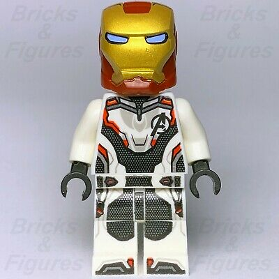 New Marvel Super Heroes LEGO® Iron Man Avengers Suit Minifigure 30452 Endgame