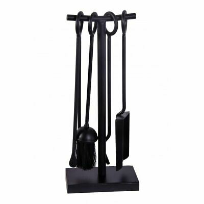 """Midleton"" Small Black Cast Iron Companion Set"