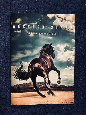 Bruce Springsteen Western Stars Album Launch Limited Edition Lyric Book