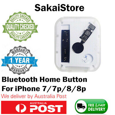 Universal Bluetooth Home Button for iPhone 7 8 Plus in Black or White