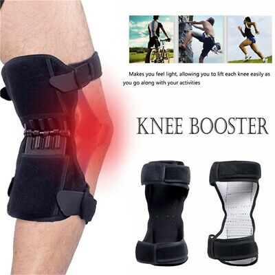 Power Knee Stabilizer Pads Powerful Rebound Spring Force Joint Support Knee Pad
