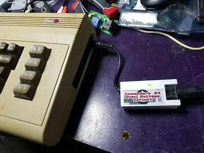 Commodore 64 Over Voltage protection circuit - Power Saver